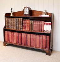 Edwardian Open Mahogany Bookcase c.1910 (7 of 12)