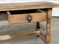 French Rustic Bleached Oak Coffee Table (13 of 17)