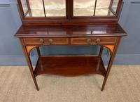 Inlaid Mahogany Display Cabinet by Shapland and Petter (2 of 21)