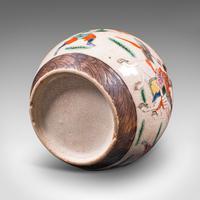 Small Antique Flower Vase, Japanese, Ceramic, Posy Urn, Edo Period c.1850 (12 of 12)