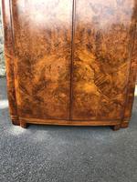 Art Deco Burr Walnut  Wardrobe (11 of 11)