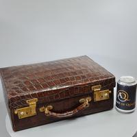 Exceptional Asprey HM Silver Gilt Fittings in Leather Case c.1935 (5 of 27)