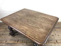 Early 20th Century Antique Oak Coffee Table (7 of 12)