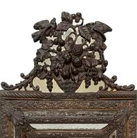 Repousse Brass Cushion Mirror (3 of 4)