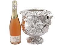 Antique George III Sterling Silver Wine Cooler (6 of 18)