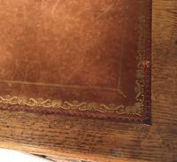 Victorian Oak Aesthetic Movement Desk (9 of 18)