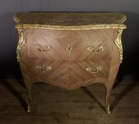 Superb Bleached Walnut Bombe Commode (9 of 9)