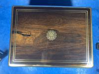 Georgian  Rosewood Brassbound Vanity Box (12 of 34)