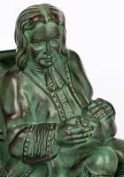 Max Le Verrier Pair Art Deco Patinated Bronze The Cobbler & The Financier Bookends (18 of 18)