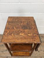 Early 20th Century Oak Revolving Bookcase (3 of 8)