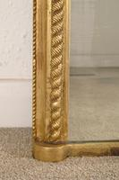 Gilt 'Rope Twist'  Arch Top Overmantle Mirror (5 of 8)