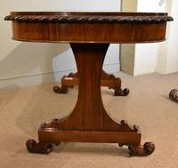 William IV Rosewood Writing Table (7 of 7)