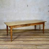 A 19th Century French Fruitwood Farmhouse Table (4 of 5)