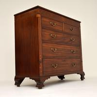 Antique Georgian Inlaid Mahogany Chest of Drawers (5 of 11)