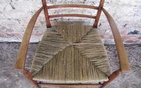 Cotswold School Ladderback Armchair (2 of 5)