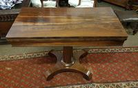 Antique Rosewood Table