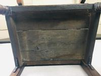 Rare English Charles II Oak Wainscot Armchair Likely to be from Battle Abbey c.1660-1685 (10 of 20)