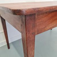 Charming Antique French Cherry Farmhouse Table c.1850 (2 of 9)