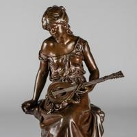 Stunning 19th Century French Bronze Sculpture by Auguste Moreau (2 of 10)