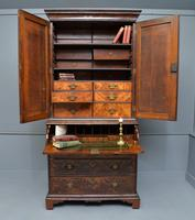Early 18th Century Walnut Secretaire Writing Cabinet (13 of 31)