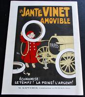 1910 Figaro Illustre Original French Journal. Motoring Adverts, Unusual Poster Size Prints (2 of 4)