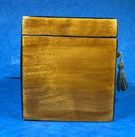 Late 18th Century Fruitwood and Applewood Twin Tea Caddy (21 of 21)