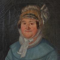 19th Century German School, Portrait of a Lady with a Bonnet (5 of 9)