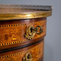 Inlaid French 3 Drawer Chest c.1900 (5 of 8)