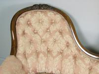 Victorian Carved Mahogany Frame Sofa (6 of 11)