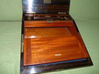 QUALITY Betjemann Coromandel Writing Box. 100% Original c1870 (9 of 15)