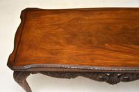 Antique Queen Anne Style Mahogany Coffee Table (6 of 8)