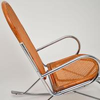 1970's Pair of Retro  Chrome & Bamboo Rocking Chairs (12 of 13)