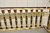 Hand Painted Wooden Railings from a Fair Ground (5 of 11)