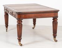 William IV Style Mahogany Writing Table (10 of 11)