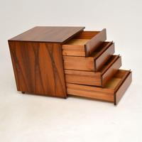 Danish Rosewood Filing Chest of Drawers Vintage 1960's (8 of 9)