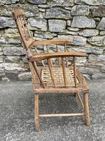 Antique Primitive Westcountry Stick Back Windsor Chair (4 of 18)