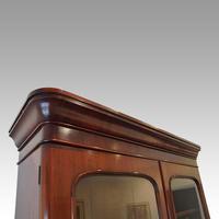 Victorian Mahogany Glazed Library Bookcase (5 of 11)