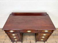 Antique Mahogany Small Desk (4 of 10)
