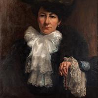 Paul-Antoine Hallez, Portrait of Lady with Umbrella (6 of 10)