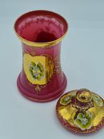 Antique Opaline Glass Jar (8 of 10)