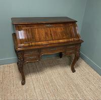 Outstanding Victorian Rococo Rosewood Antique Writing Desk (8 of 11)
