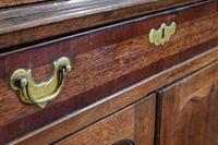 18th Century Oak & Mahogany Corner Cabinet (4 of 9)