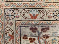 Vintage Anatolian Kayseri Silk Rug 2.22m x 1.51m (8 of 17)