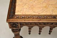 Antique Carved Marble Top Coffee Table (9 of 14)