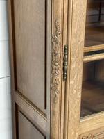 French 3 Door Oak Bookcase or Cabinet (8 of 15)