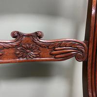 Superb Quality William IV Set of Six Mahogany Antique Dining Chairs (2 of 9)