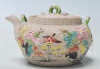 Antique Japanese Clay Teapot (2 of 5)