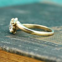 The Antique Old European Cut Diamond Toi Et Moi Ring (2 of 6)
