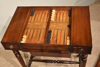 William IV Mahogany Games Table (8 of 13)