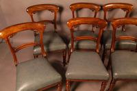 Good Set of 8 Early Victorian Century Dining Chairs (2 of 12)